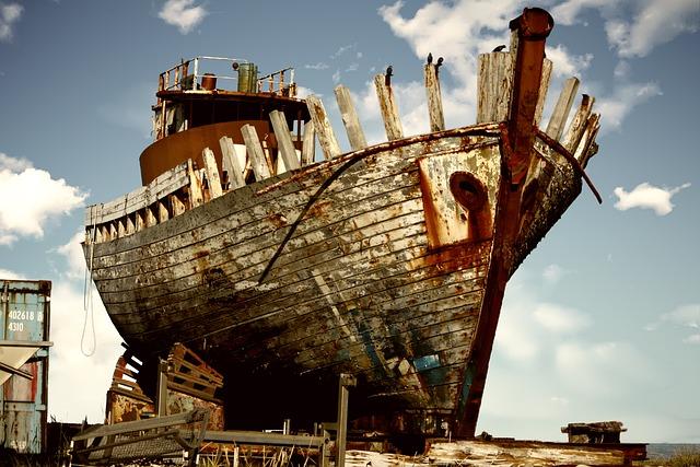 Derelict, Boat, Abandoned, Damaged, Nautical, Shipwreck