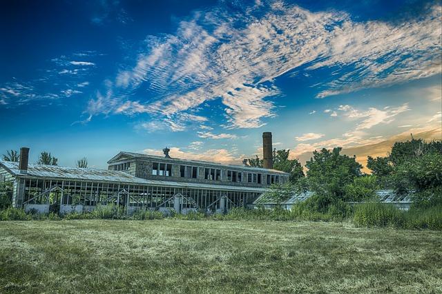 Derelict, Building, Landscape, Abandoned, Architecture
