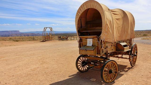 Arizona, Desert, Trolley