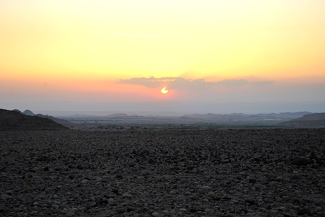 Desert Dana, Feynan, Sunset, Jordan, Israel