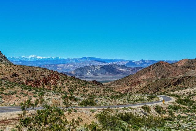 Mount Whitney, Death Valley, Mountains, Desert