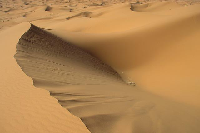 Sand, Sahara, Desert, Structure, Dune