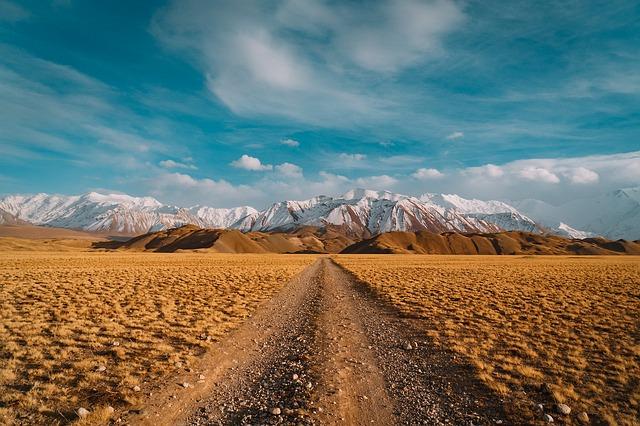 Desert, Landscape, Dry, Mountain