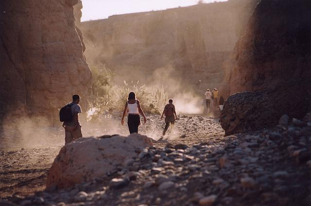 Sesriem, Namibia, Canyon, Sand, Desert, Nature