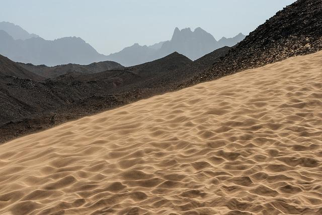 Sand, Desert, Nature, Parched, Dry, Travel, Wasteland