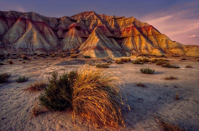 Mountain, Desert, Sand, Landscape, Spain, Navarre