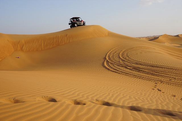 Desert, Dune, Sand, Adventure, Quad, Dubai