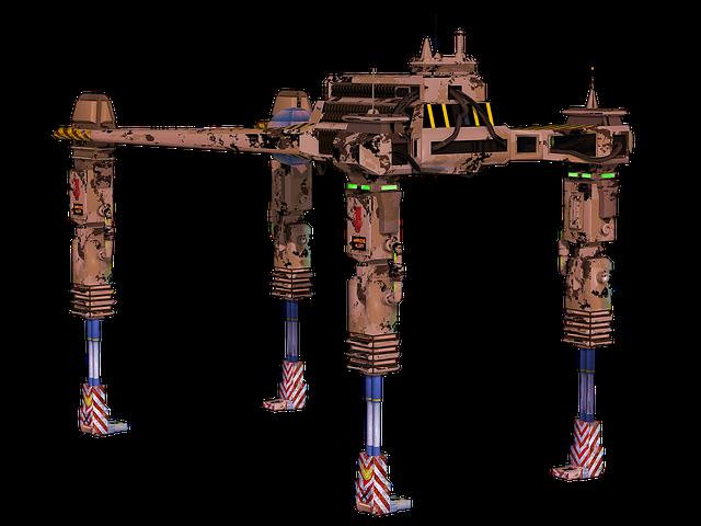 Machine, Drone, Postapo, Military, Desert Sand, Brown