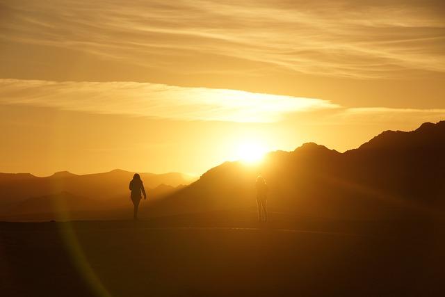 Sunrise, Morocco, Desert
