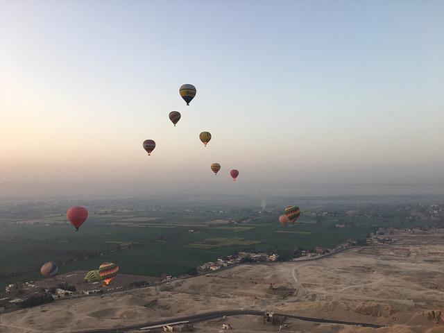 Hot Qi Ball, Egypt, The Valley Of The Kings, Desert