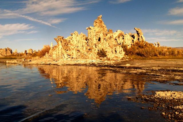 Tufa, Tuff, Mono Lake, Salt Lake, Desert, California