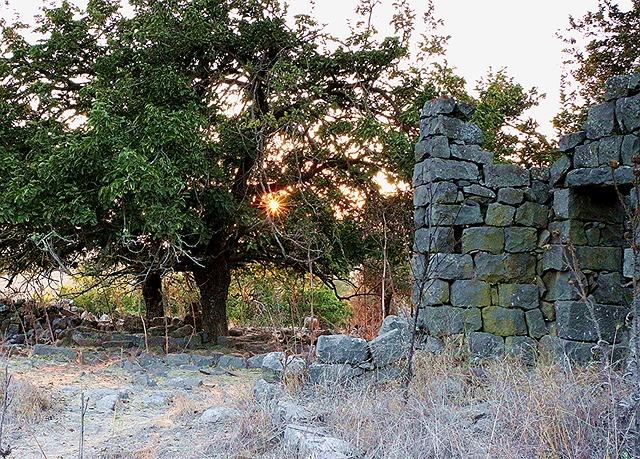 Ramtaniya, Golan Heights, Israel, Ruins, Deserted Ruins