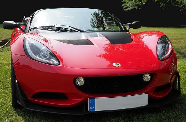 Automobile, Transport, Lotus, Red, Cars, Design