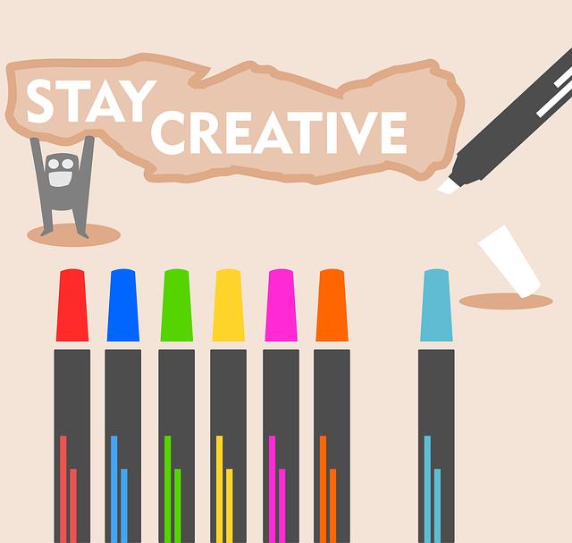 Creative, Stationary, Motivation, Design, Color