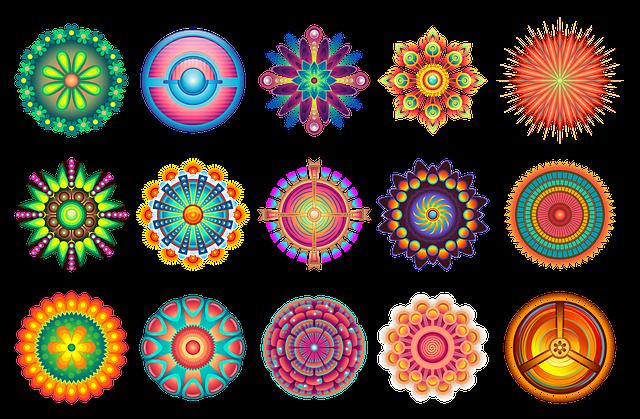 Decorative, Pattern, Shape, Abstract, Design, Circle