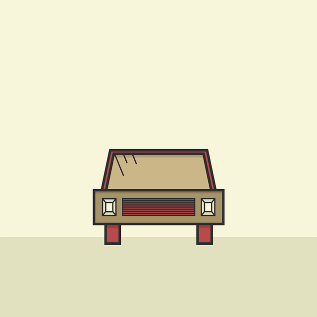 Auto, Sepia, Automotive, Flat, Design, Icon, Logo