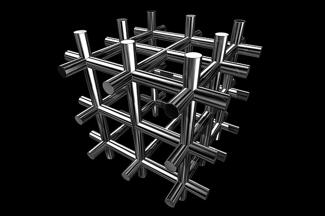 Cube, Design, Technical, Metal, 3d, Shape, Technology