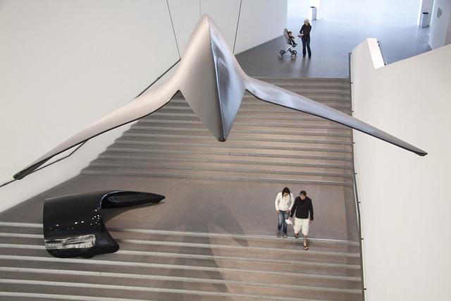 Art Gallery, Picture Gallery Of Modern, Munich, Design