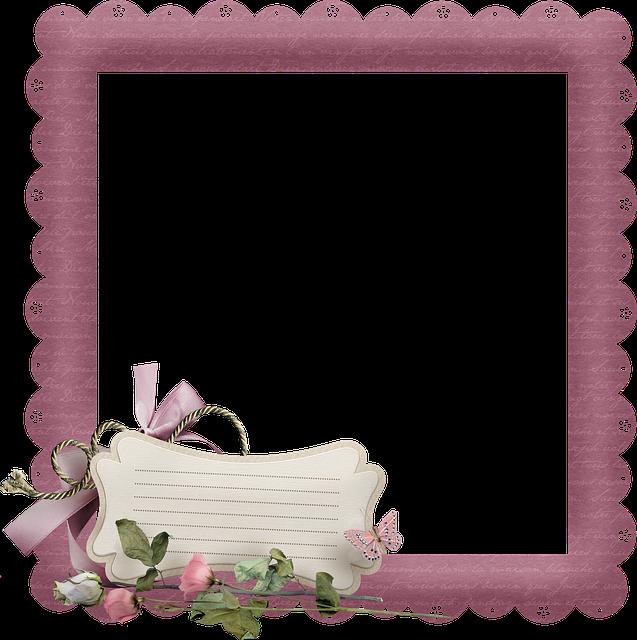 Paper Frame, Note Paper, Scrapbooking, Design