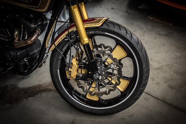 Motorcycle Rim, Design Of The Rims, Disc Brake