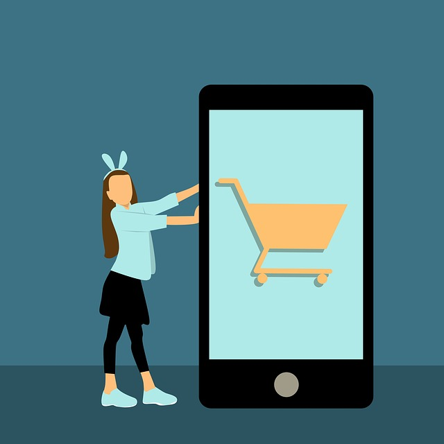 Design, Online Shopping, Girl, Woman, Shopping