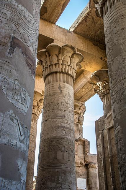 Temple, Ed Fu, Egypt, Pattern, Culture, Design, Shape