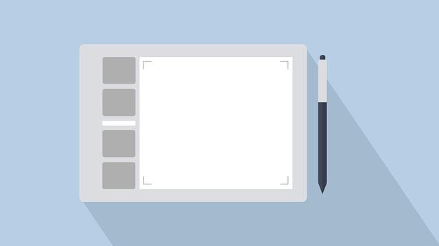 Drawing Tablet, Tablet, Pen, Design, Professional