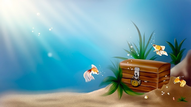 Wallpaper, Treasure Chest, Drawing, Design, Story