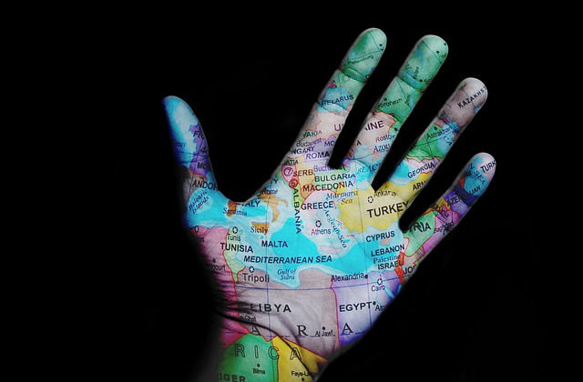 World, Travel, Map, Design, Hand