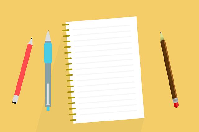Desk, Notes, Notebook, Album, Write, Pen, Pencil, Issue