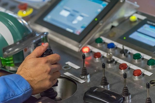 Desk, Industrial, Steel, Hand, Helmet, Automation