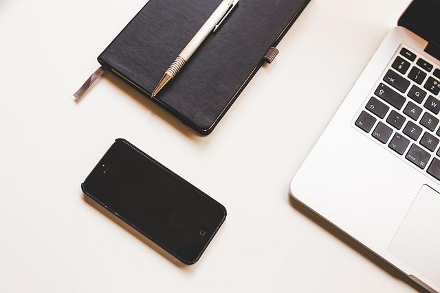 Apple, Computer, Desk, Iphone, Laptop, Macbook