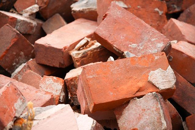 Bricks, Batch, Desktop, Pile, Construction