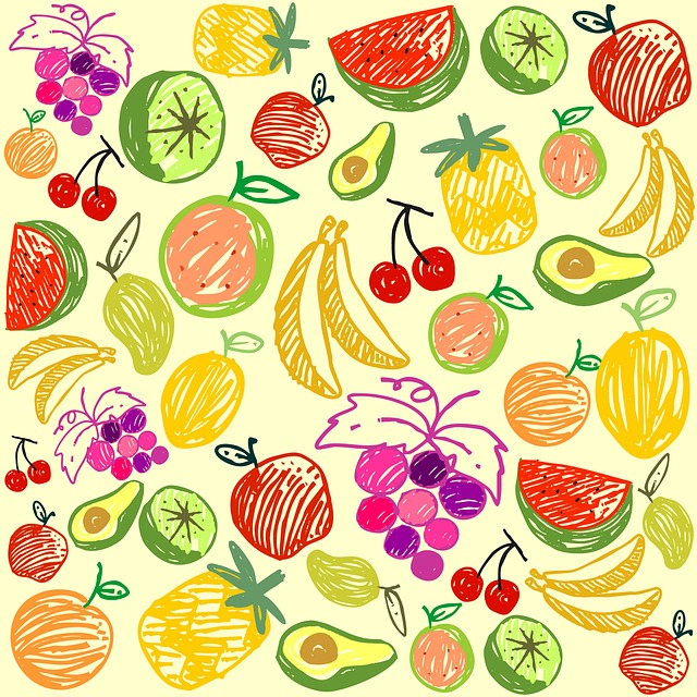 Seamless, Pattern, Desktop, Decoration, Element, Lemon