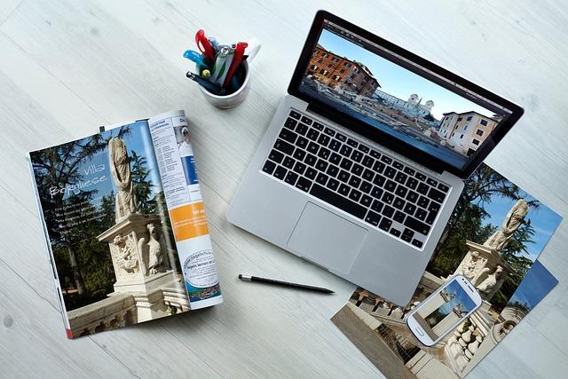 Workplace, Macbook, Smartphone, Desktop, Creative