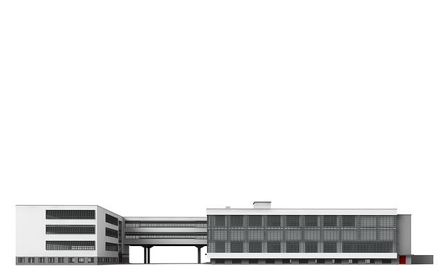 Bauhaus, Dessau, Architecture, Building, Church