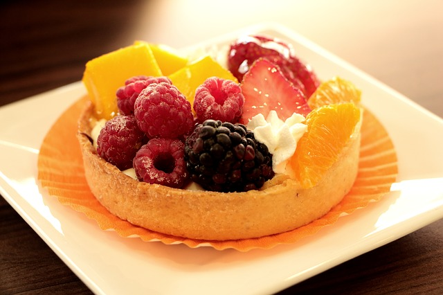 Dessert, Berries, Fruits Tart, Fruits Dessert, Food