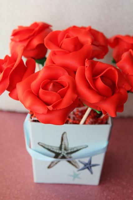 Cake Pops, Roses, Gourmet, Dessert, Boxed, Bouquet