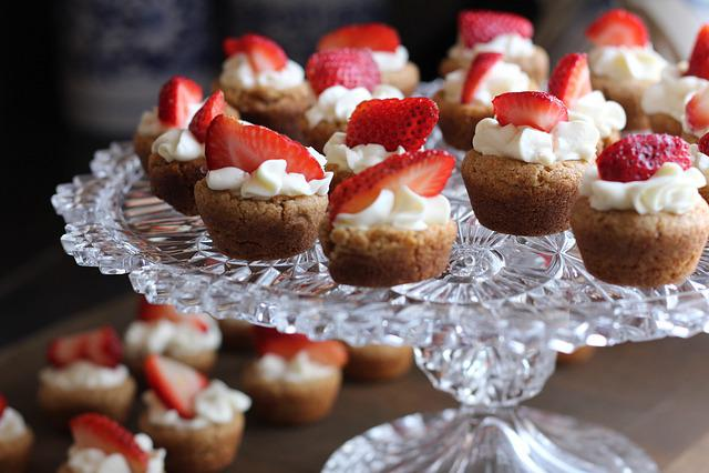 Dessert, Strawberry, Tart, Berry, Fruit, Cupcakes, Cake