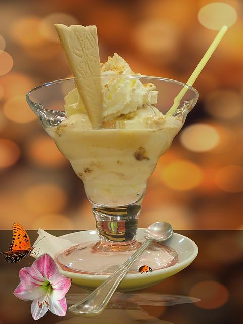Ice Cream Sundae, Ice, Sweet, Dessert, Ice Cream