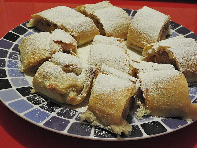 Apple Strudel, Strudel, Dessert