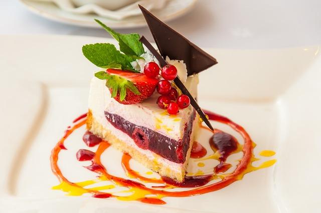 The Cake, Dessert, Eating, Bun, Colorful, Sweet Dish