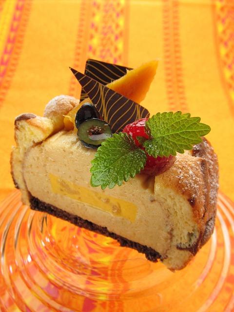 Cake, Tahiti, Mango, Dessert, Fruit, Sweet, Suites