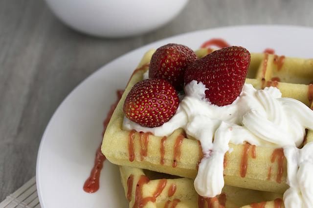 Wafer, Viennese Waffles, Dessert, Food, Nutrition
