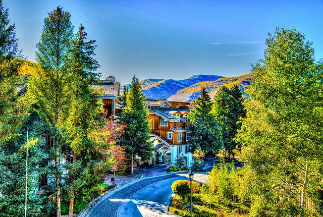 Vail, Colorado, Nature, Usa, Travel, Destination