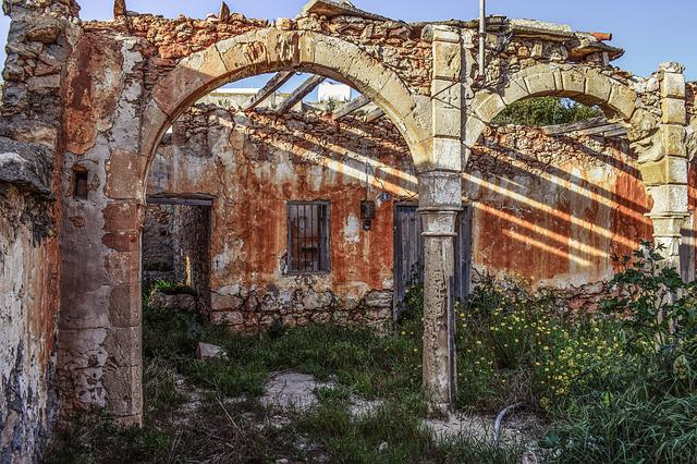 Ruin, Old House, Destroyed, Damaged, Architecture