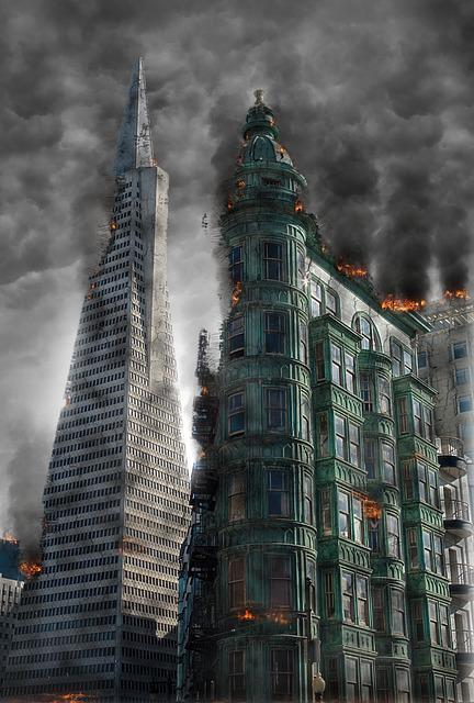 Armageddon, Destruction, Apocalypse, Disaster, War