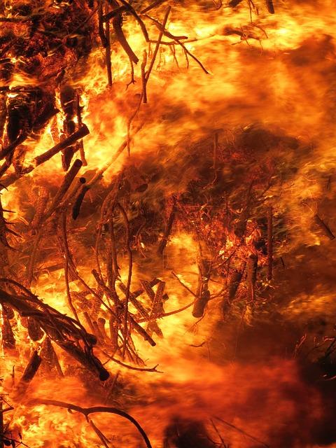 Fire, Conflagration, Destruction