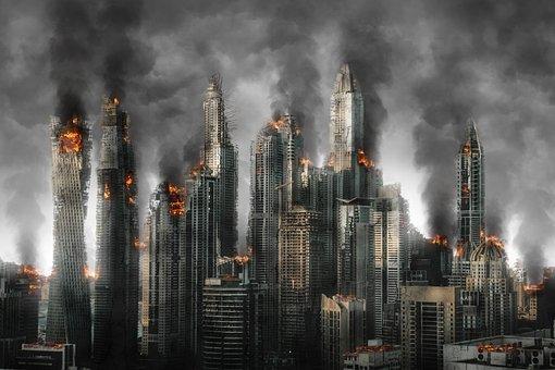 Armageddon, Disaster, Destruction, War, Abandoned