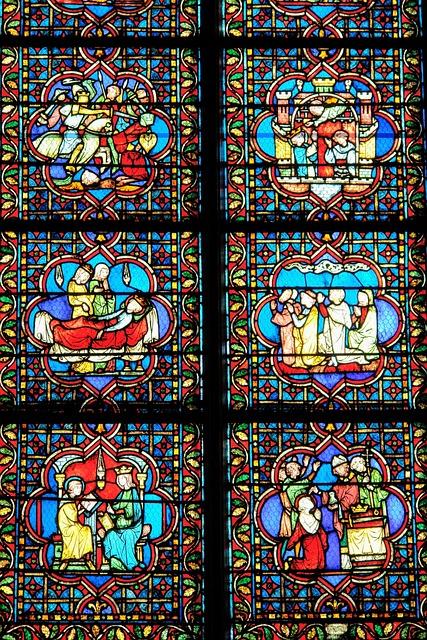 France, Paris, Church, Detail, Interior, Cross
